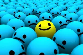 Smiley Faces - Fondos de pantalla gratis para LG E400 Optimus L3