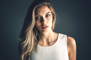 Blonde Model - Fondos de pantalla gratis