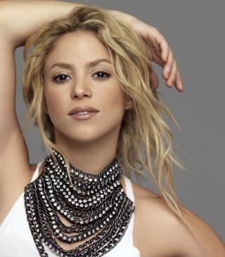 Beautiful Blonde Shakira - Obrázkek zdarma pro Nokia X2