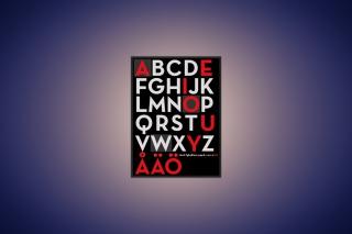Alphabet - Obrázkek zdarma pro Sony Xperia Z3 Compact