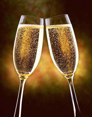Champagne Toast - Obrázkek zdarma pro 480x854