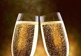 Champagne Toast - Obrázkek zdarma pro HTC Wildfire
