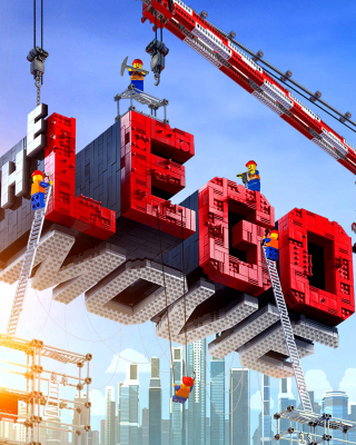 The Lego Movie - Obrázkek zdarma pro Nokia Asha 305