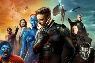 X Men Days Of Future Past Poster - Obrázkek zdarma pro Desktop Netbook 1366x768 HD