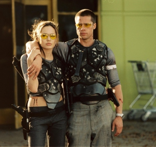 Mr. & Mrs. Smith - Obrázkek zdarma pro 208x208