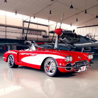 Pogea Racing Chevrolet Corvette 1959 - Obrázkek zdarma pro 2048x2048