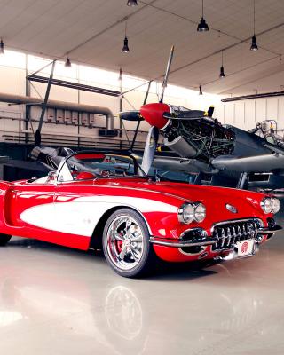 Pogea Racing Chevrolet Corvette 1959 - Obrázkek zdarma pro Nokia C2-01
