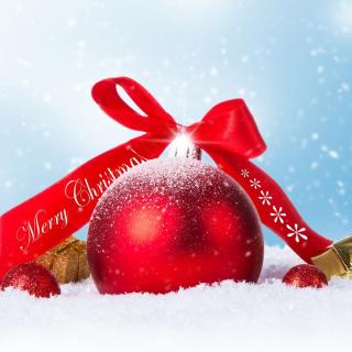 Christmas Ball Ornament Set - Obrázkek zdarma pro iPad mini
