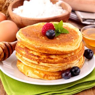 Pancakes with honey - Obrázkek zdarma pro iPad mini