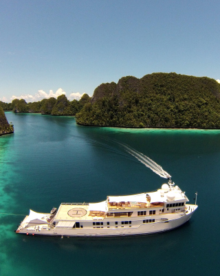 Private Caribbean Cruise - Obrázkek zdarma pro Nokia Asha 310