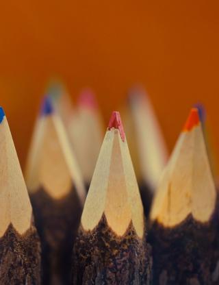 Pencils - Obrázkek zdarma pro 320x480