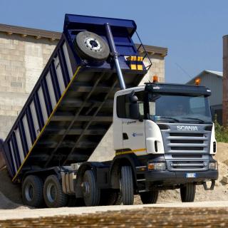 Scania Truck - Obrázkek zdarma pro iPad Air