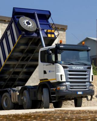 Scania Truck - Obrázkek zdarma pro Nokia Asha 202
