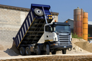 Scania Truck - Obrázkek zdarma pro Samsung I9080 Galaxy Grand