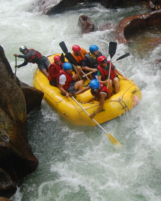 Water Rafting - Obrázkek zdarma pro 480x800