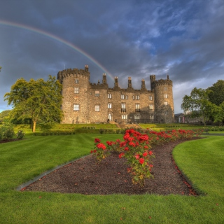 Kilkenny Castle in Ireland - Obrázkek zdarma pro iPad mini
