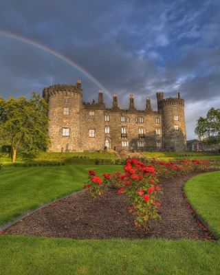 Kilkenny Castle in Ireland - Obrázkek zdarma pro 750x1334