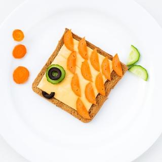 Funny Food - Obrázkek zdarma pro 1024x1024