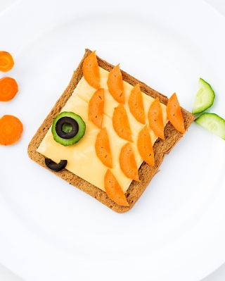 Funny Food - Obrázkek zdarma pro Nokia X6