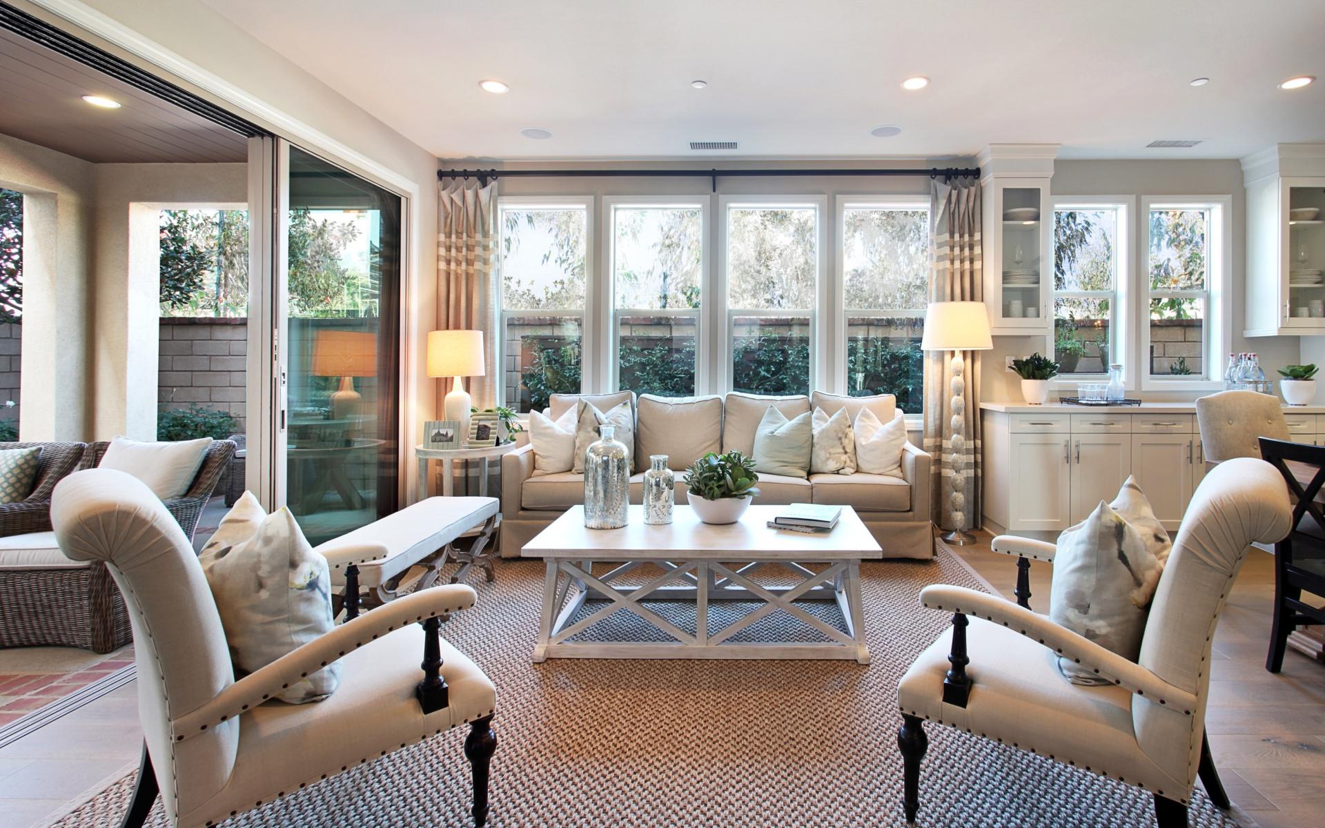 interior luxury living room wallpaper for widescreen desktop pc