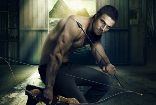 Oliver Queen Green Arrow Background for Android, iPhone and iPad