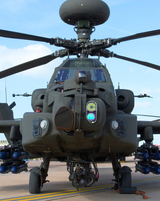 Mi 28 Military Helicopter - Obrázkek zdarma pro Nokia Asha 306