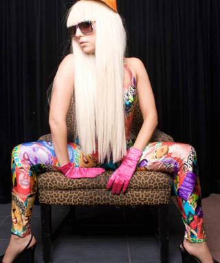 Lady Gaga - Obrázkek zdarma pro Nokia Lumia 822