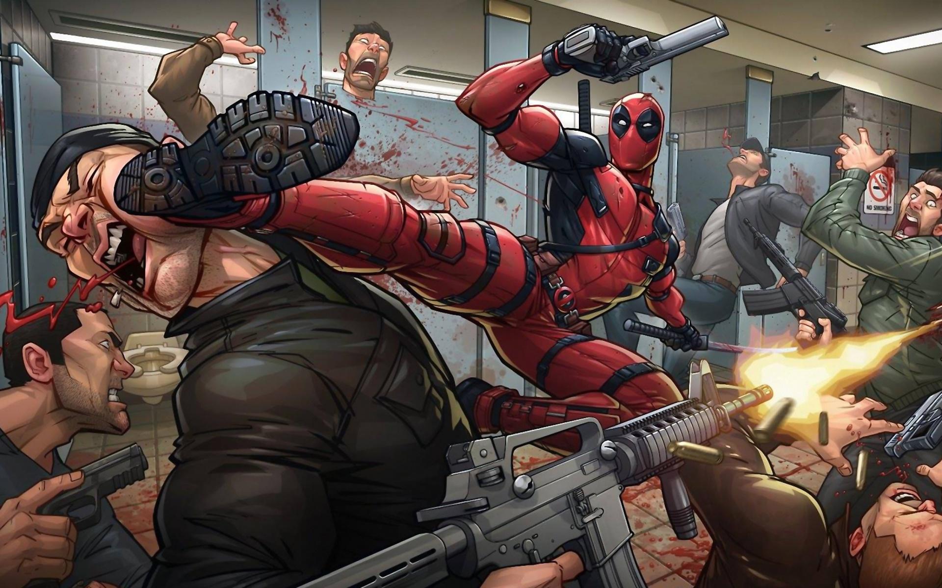 Fondos De Pantalla De Deadpool: Fondos De Pantalla Gratis Para Widescreen