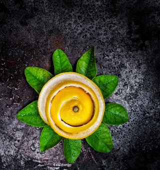 Lemon Peel - Obrázkek zdarma pro iPad Air