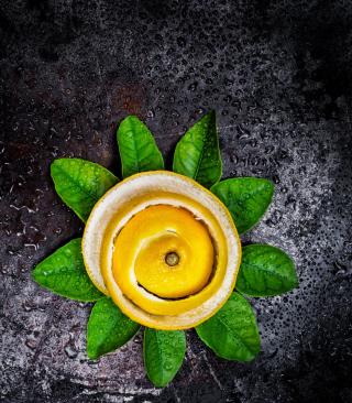 Lemon Peel - Obrázkek zdarma pro 240x400