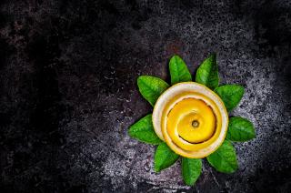 Lemon Peel - Obrázkek zdarma pro HTC Desire 310