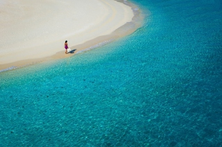 Beach Promenade Wallpaper for Android, iPhone and iPad