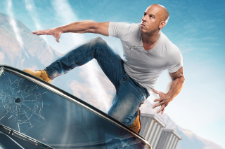 Fast & Furious Supercharged Poster with Vin Diesel Picture for Android, iPhone and iPad