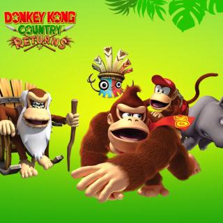 Donkey Kong Country Returns Arcade Game - Obrázkek zdarma pro 320x320