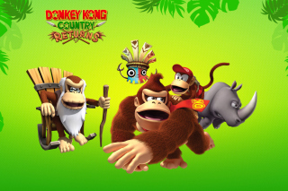 Donkey Kong Country Returns Arcade Game - Obrázkek zdarma pro Widescreen Desktop PC 1280x800