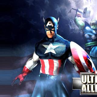 Marvel Ultimate Alliance 2 Hero - Obrázkek zdarma pro iPad mini 2