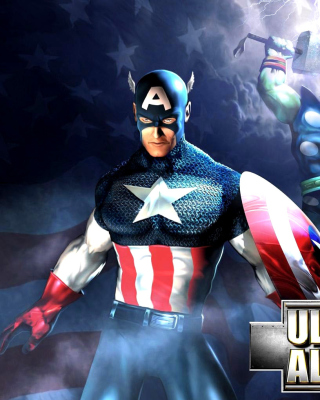 Marvel Ultimate Alliance 2 Hero - Obrázkek zdarma pro iPhone 6 Plus