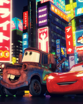 Cars The Movie - Obrázkek zdarma pro iPhone 6 Plus