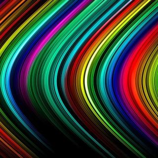 Rainbow Lines - Obrázkek zdarma pro iPad mini 2