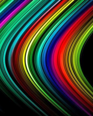 Rainbow Lines - Obrázkek zdarma pro Nokia X3