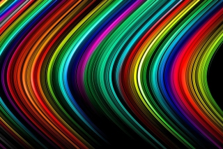 Rainbow Lines Picture for Android, iPhone and iPad