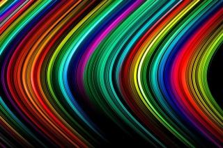 Rainbow Lines - Obrázkek zdarma pro Sony Xperia Z3 Compact