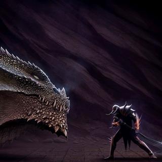 Serpent and Warrior - Obrázkek zdarma pro iPad 2