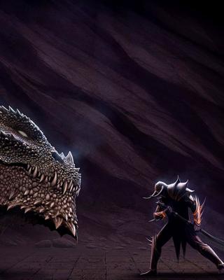 Serpent and Warrior - Obrázkek zdarma pro Nokia C6-01