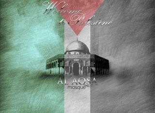 Al-Aqsa Mosque, Jerusalem Background for Android, iPhone and iPad