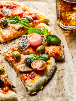 Pizza - Obrázkek zdarma pro Nokia X6