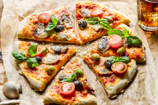 Pizza - Obrázkek zdarma pro Samsung Galaxy Nexus