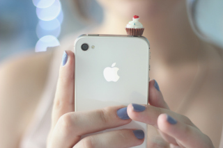Cupcake Iphone Wallpaper for Android, iPhone and iPad