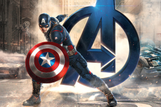 Free Captain America Marvel Avengers Picture for Android, iPhone and iPad