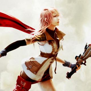 Lightning Final Fantasy XIII - Obrázkek zdarma pro 128x128